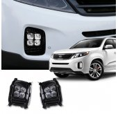 LED ПТФ Power LED - KIA New Sorento R (DK Motion)