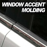 [AUTO CLOVER] KIA All New Morning - Window Accent Chrome Molding Set (B231)