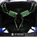 [PICO SOUND] Hyundai Genesis Coupe 3.8- Dual Variable Muffler Exhaust System Set