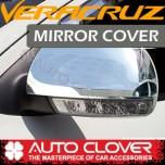 [AUTO CLOVER] Hyundai Veracruz - Side Mirror Chrome Molding Set (A798) - LED Type