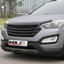[EGR] Hyundai Santa Fe DM - Super Guard Bonnet Protector (SMOKED)