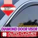 [AUTO CLOVER] Honda CR-V - Premium Diamond Door Visor Set (C006)