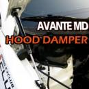 [EURO9] Hyundai Avante MD - Hood Dampers