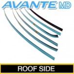 [KUMCHANG] Hyundai Avante MD - Real Stainless Roof Side Molding Set