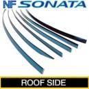 [KUMCHANG] Hyundai NF Sonata - Real Stainless Roof Side Molding Set
