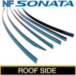 [KUMCHANG] Hyundai NF Sonata - Real Stainless Roof Side Molding Set