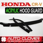 [AUTO CLOVER] Honda CR-V - Acrylic Hood Guard (B113)
