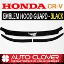 [AUTO CLOVER] Honda CR-V  - Emblem Hood Guard Black Molding (D565)