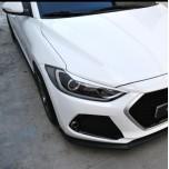 [M&S] Hyundai Avante AD - Headlight Eyeline Molding Set