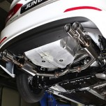 [JUN,B.L] Hyundai Avante AD - Twin Rear Section Muffler (JBLH-16ADTR)