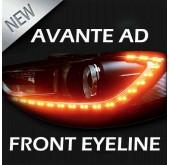 LED-модули ресничек фар - Hyundai Avante AD (XLOOK)