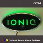[ARTX] Hyundai Ioniq - LED Mirror Tuning Emblem Set No.191