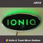 [ARTX] Hyundai Ioniq - LED Mirror Tuning Emblem Set No.191