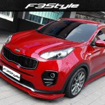 [F3S] KIA All New Sportage QL - Front & Side Body Kit Aeroparts