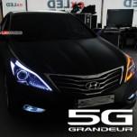 [EXLED] Hyundai 5G Grandeur HG - EyeLine 1Way/2Way Power LED Upgrade Modules