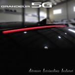 [DK Motion] Hyundai 5G Grandeur HG - Glass Wing LED Roof Spoiler Long Type