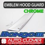 [AUTO CLOVER] KIA Bongo III - Emblem Hood Guard Chrome Molding (D525)