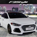[F3S] Hyundai Avante AD - Front & Side Body Kit Aeroparts