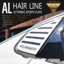 [DXSOAUTO] Chevrolet All New Malibu - AL Hairline Lettering Sports Plate