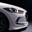 [ADRO] Hyundai Avante AD - Front lip kit
