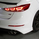 [ADRO] Hyundai Avante AD - Rear Lip Aero Parts Ver..2