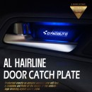 [DXSOAUTO] Hyundai i30 - AL Hairline LED Door Catch Plate