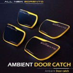 [MOBIEX] KIA All New Sorento UM - Ambient Sports LED Door Catch Plate