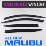 [AUTO CLOVER] Chevrolet All New Malibu - Smoked Door Visor Set (D744)