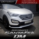[DK Motion] Hyundai Santa Fe The Prime - Front  Lip Aeroparts Set