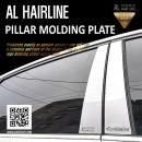 [DXSOAUTO] KIA All New Pride Hatchback - AL Hairline Pillar Molding Plates