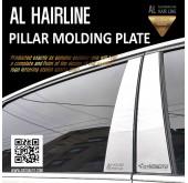 Молдинг стоек AL Hairline - Hyundai Grandeur iG (DXSOAUTO)