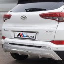 [MLX Auto] Hyundai All New Tucson TL - Rear Bumper Skid Plate Set