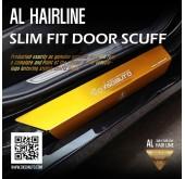 Накладки на пороги AL Hairline Slim Fit - Hyundai Grandeur iG (DXSOAUTO)