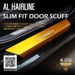 [DXSOAUTO] Hyundai i30 PD - AL Hairline Slim Fit Door Sill Scuff Plates Set