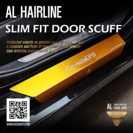 Накладки на пороги AL Hairline Slim Fit - Hyundai i30 3G (DXSOAUTO)