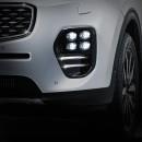 [DK Motion] KIA All New Sportage QL - Quad Eye Power LED Fog Lights
