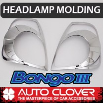 [AUTO CLOVER] KIA Bongo III - Head Lamp Chrome Molding Set (D852)