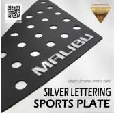 Накладки на задние стекла Silver Lettering - Chevrolet All New Malibu (DXSOAUTO)