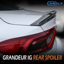 [CAMILY] Hyundai Grandeur IG - Trunk Rear Lip Spoiler