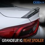 [CAMILY] Hyundai Grandeur IG - Trunk Rear Lip Spoiler