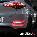 [KABIS] Hyundai All New Tucson - LED Rear Bumper Reflector Set