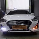 [EXLED] Hyundai Sonata New Rise - DRL 2Way LED Upgrade Modules (P-8 COB / Seq.)