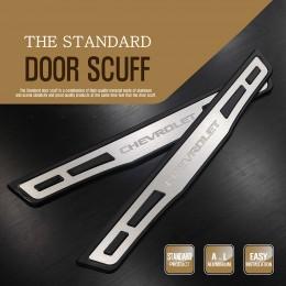 [DXSOAUTO] Chevrolet Cruze 2017 - The Standard AL Door Sill Scuff Plates Set