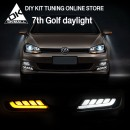 [DK Motion] Volkswagen Golf 7 - 2Way LED DRL Set