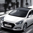 [EXLED] Hyundai i40 - DRL 2Way LED Upgrade Modules (P-8 COB / Seq.)