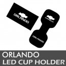[LEDIST] Chevrolet Orlando - LED Cup Holder & Console Plates Set Ver.2