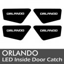 [LEDIST] Chevrolet Orlando - LED Inside Door Catch Plates Set Ver.2