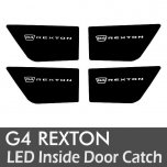 [LEDIST] SsangYong G4 Rexton - LED Inside Door Catch Plates Set Ver.2