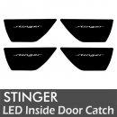 [LEDIST] KIA Stinger - LED Inside Door Catch Plates Set Ver.2