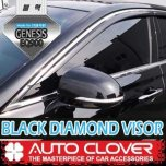 [AUTO CLOVER] Genesis EQ900 - Black Diamond Visor Set (D949)
